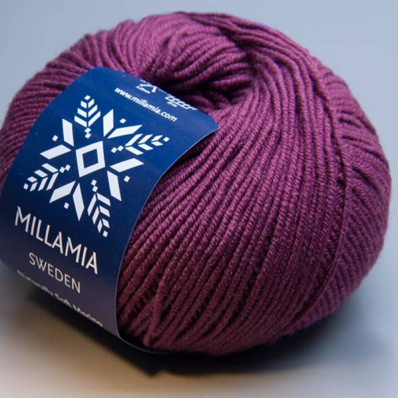 Millamia Naturally Soft Merino 163 berry 50g