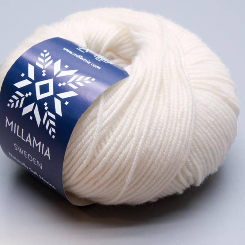 Millamia Naturally Soft Merino 124 snow 50g