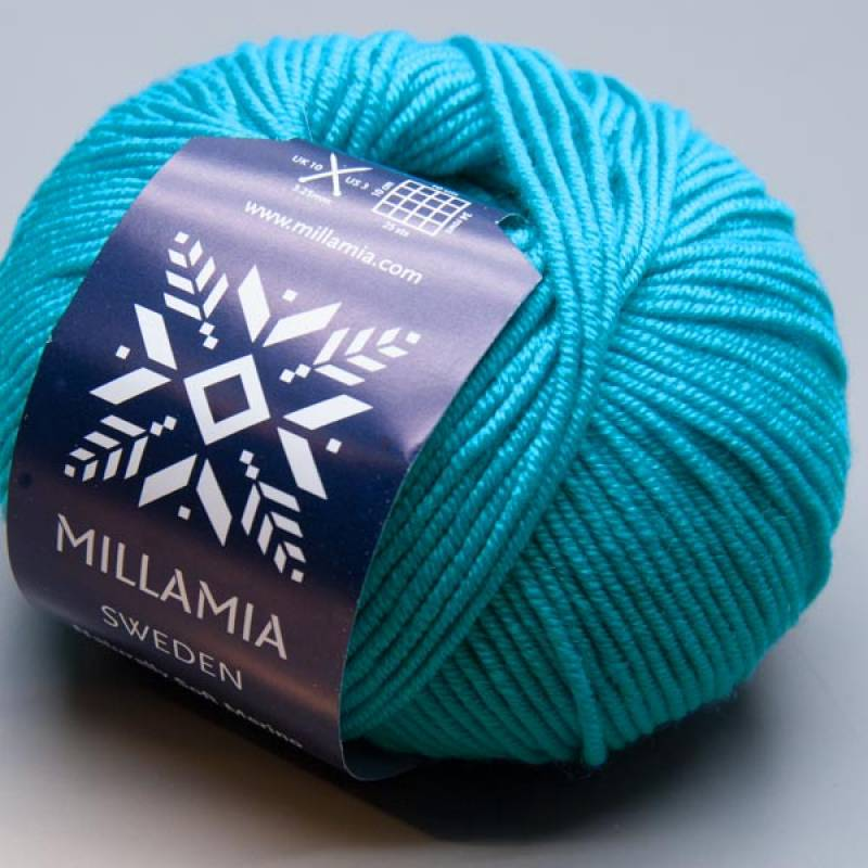 Millamia Naturally Soft Merino 144 peacock 50g