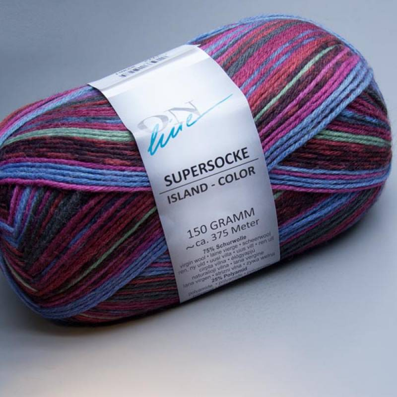 ONline Supersocke 6-fach Island-Color 1772 150g