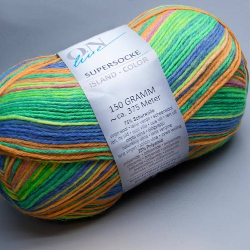 ONline Supersocke 6-fach Island-Color 1767 150g