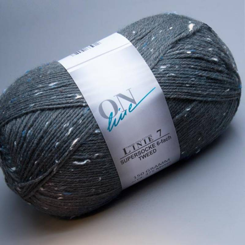 ONline Linie 7 Supersocke 6-fach Tweed 0908 150g
