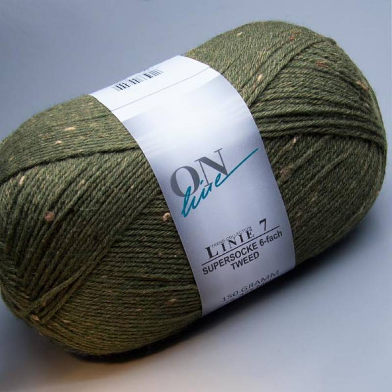 ONline Linie 7 Supersocke 6-fach Tweed 0904 150g