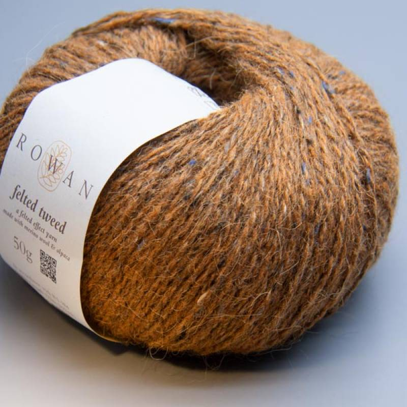 Rowan Felted Tweed 175 cinnamon 50g