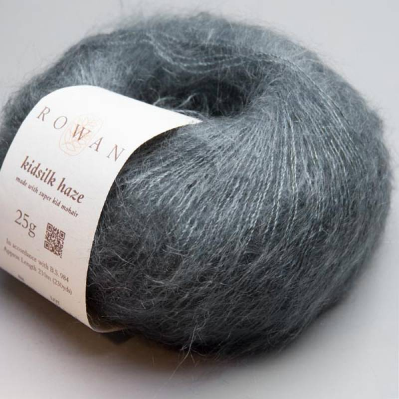 Rowan Kidsilk Haze 639 anthracite 25g