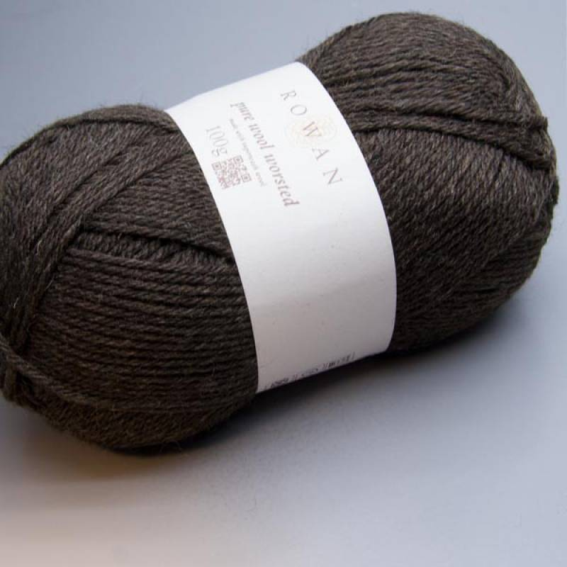 Rowan Pure Wool Worsted 110 umber 100g