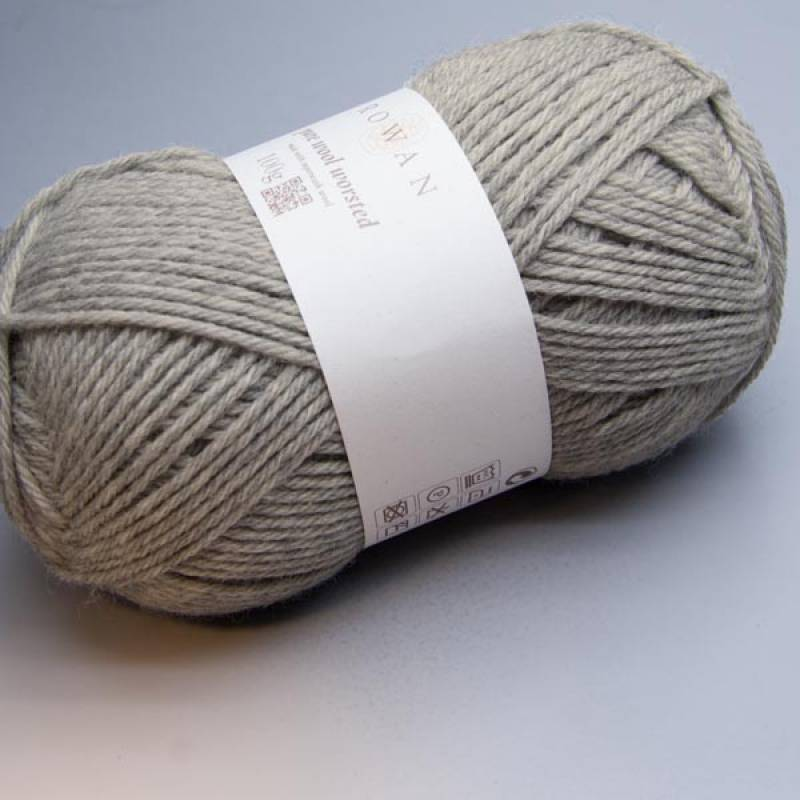 Rowan Pure Wool Worsted 112 moonstone 100g