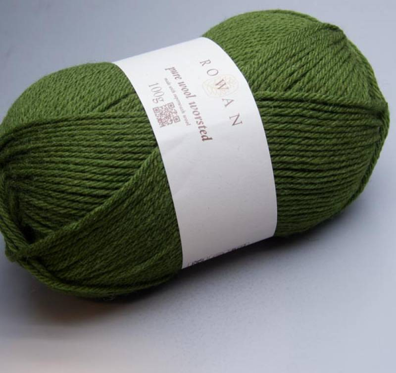 Rowan Pure Wool Worsted 126 forest 100g