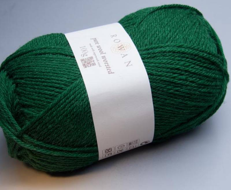 Rowan Pure Wool Worsted 142 garage 100g