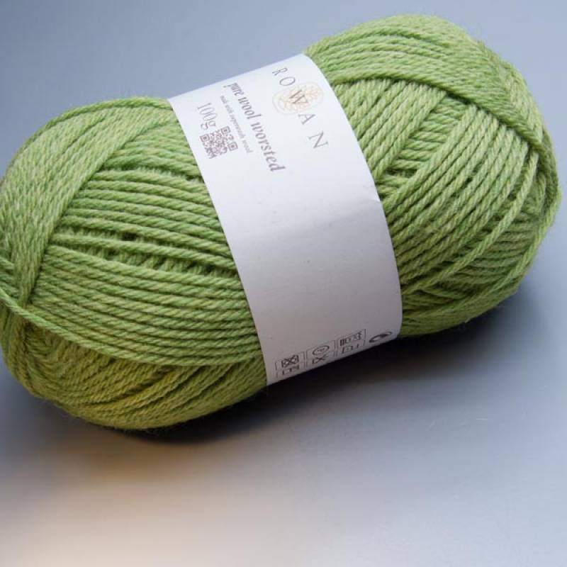 Rowan Pure Wool Worsted 129 apple 100g