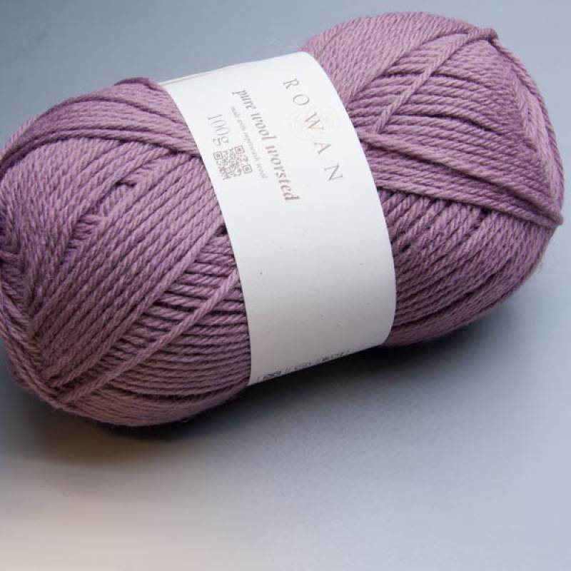 Rowan Pure Wool Worsted 115 rosy 100g