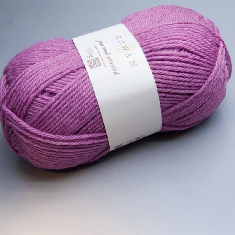 Rowan Pure Wool Worsted 151 rose pink 100g