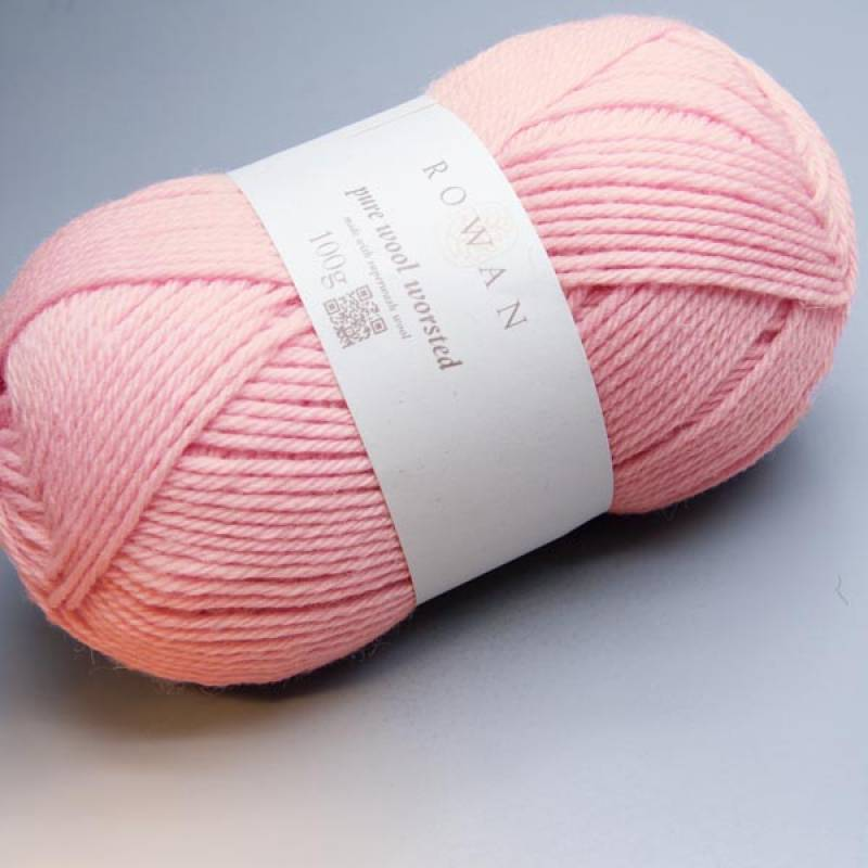 Rowan Pure Wool Worsted 113 pretty pink 100g