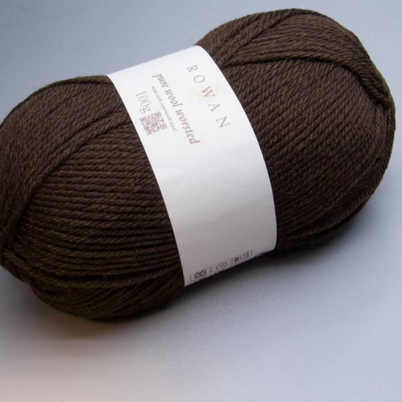 Rowan Pure Wool Worsted 108 clove 100g