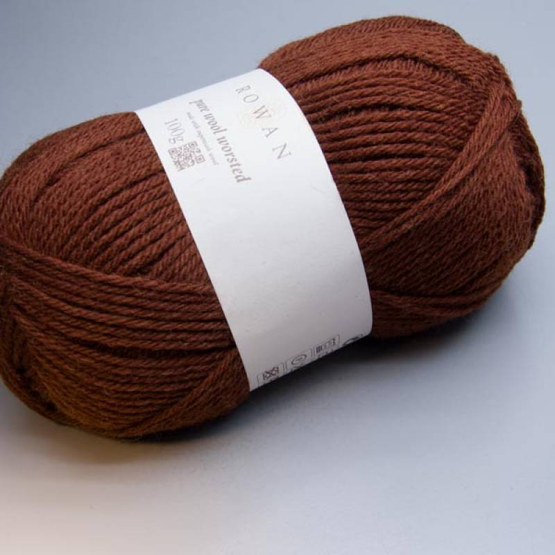 Rowan Pure Wool Worsted 107 chestnut 100g