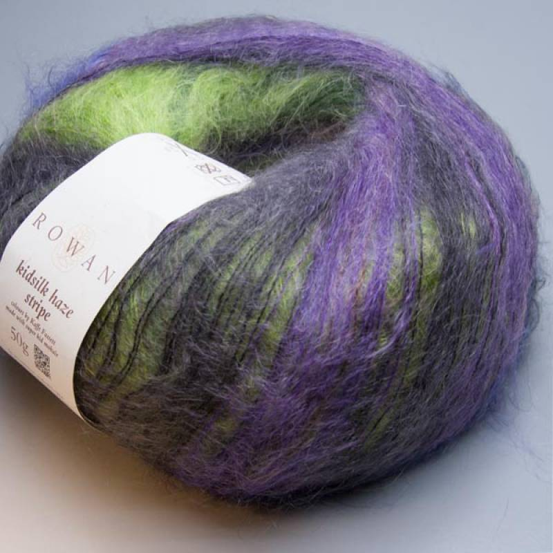 Rowan Kidsilk Haze Stripe 200 twilight 50g