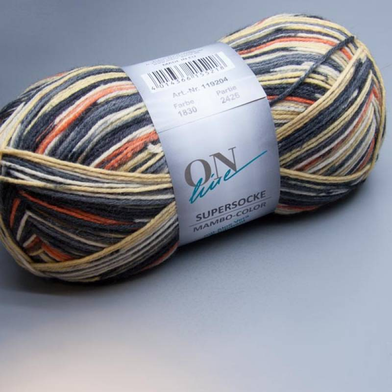 ONline Supersocke Mambo-Color 1830 150g