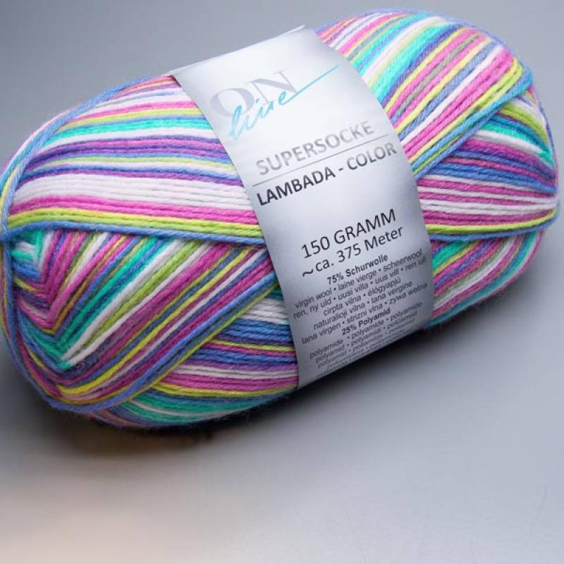 ONline Supersocke 6-fach Lambada-Color 1845 150g