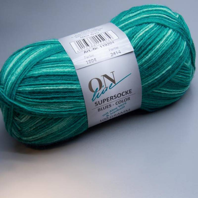 ONline Supersocke Blues-Color 1804 100g