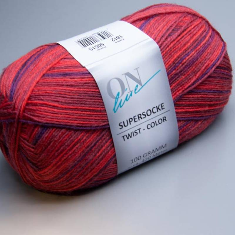 ONline Supersocke Twist-Color 1812 100g