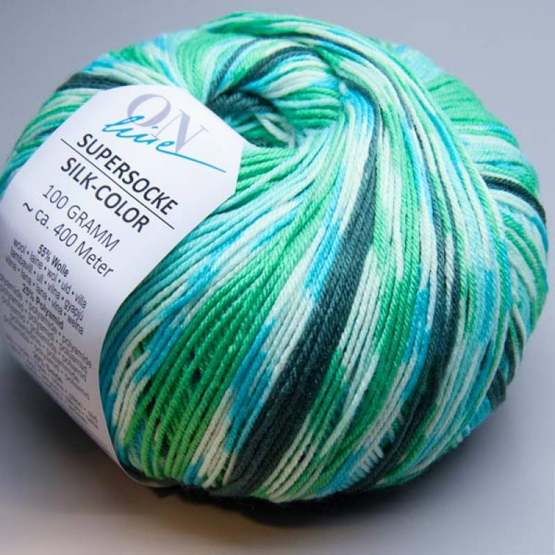 ONline Supersocke Silk-Color 1834 100g