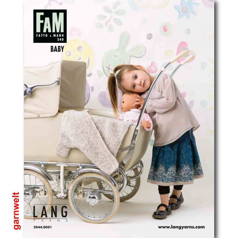 Lang Yarns Fatto a Mano FAM 240 Baby Strickheft mit Strickanleitung