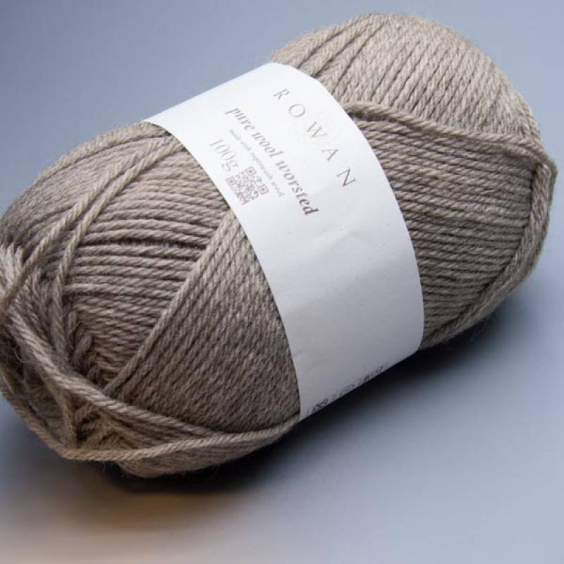 Rowan Pure Wool Worsted 157 mole 100g