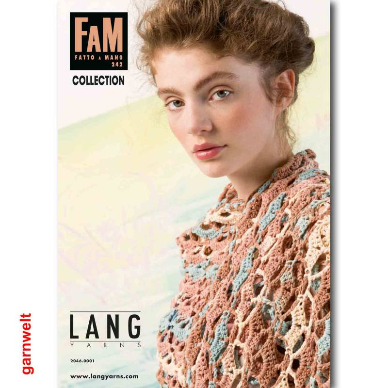 Lang Yarns Fatto a Mano FAM 242 Collection Strickheft mit Strickanleitungen