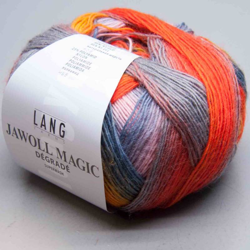 Lang Yarns Jawoll Magic Degrade 33