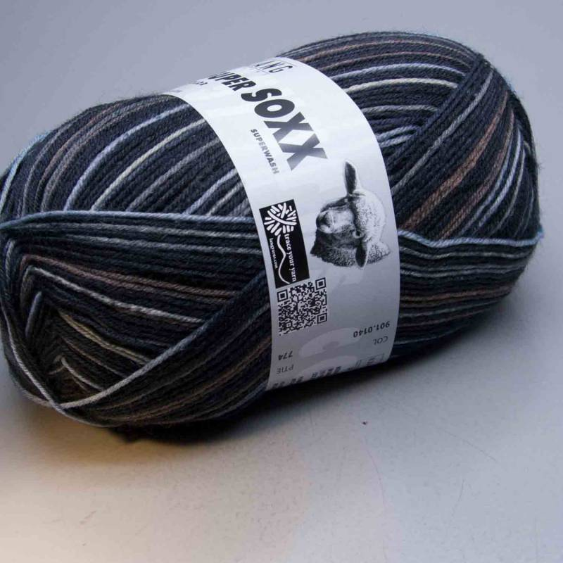 Lang Yarns Super Soxx Color 4Ply 140