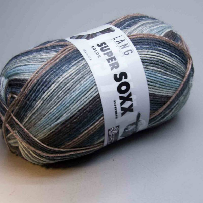 Lang Yarns Super Soxx Color 4Ply 141