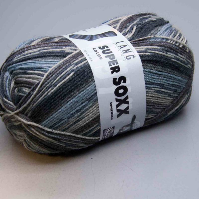 Lang Yarns Super Soxx Color 4Ply 143