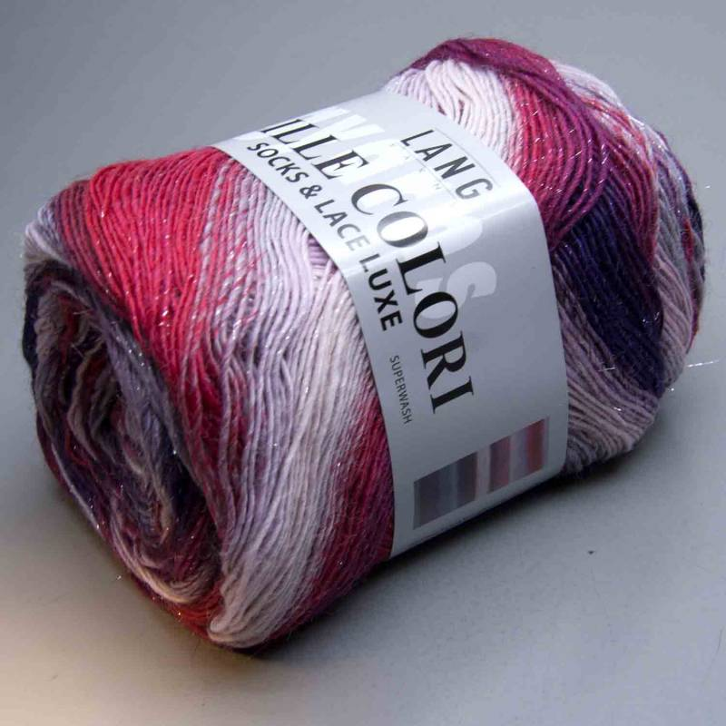 Lang Yarns Mille Colori Socks & Lace Luxe 65