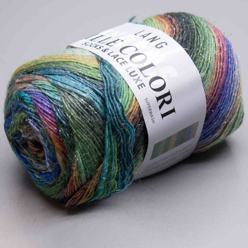 Lang Yarns Mille Colori Socks & Lace Luxe 97