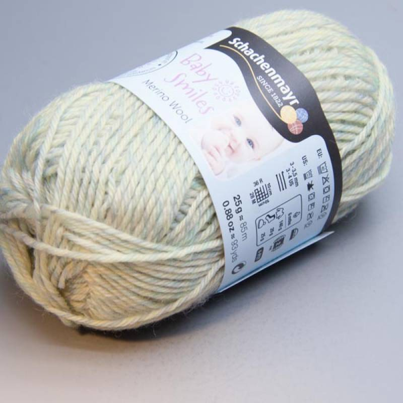 Schachenmayr Baby Smiles Merino Wool 1080 pastell color 25g