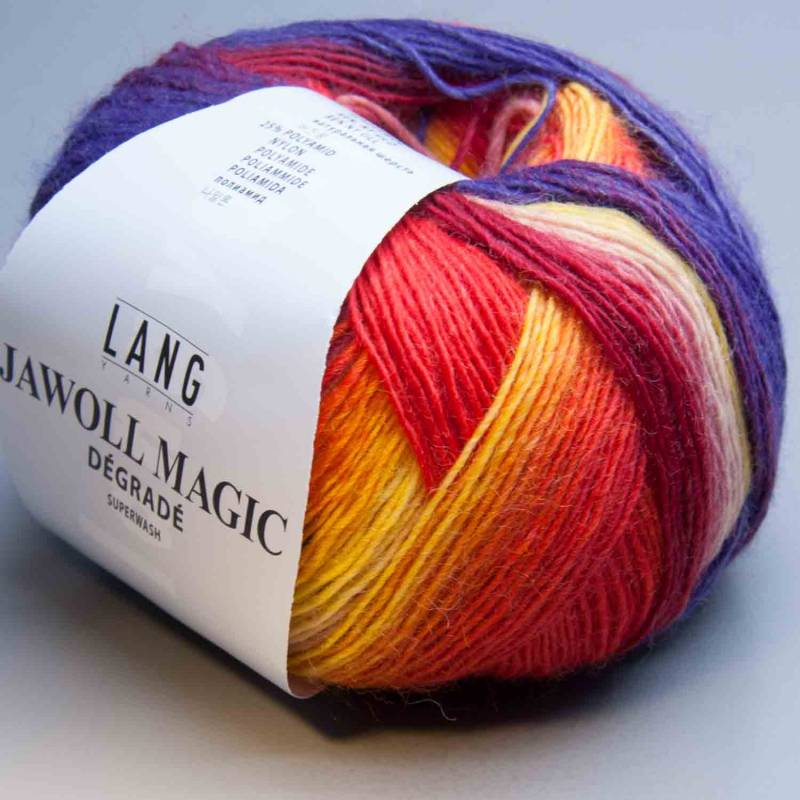Lang Yarns Jawoll Magic Degrade 51