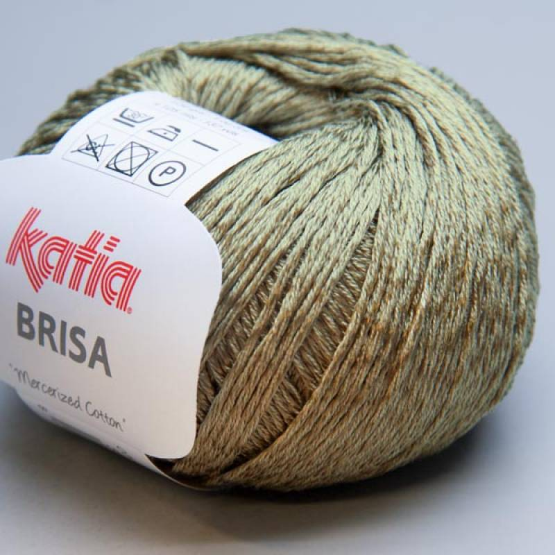 Katia Brisa 038 oil green 50g