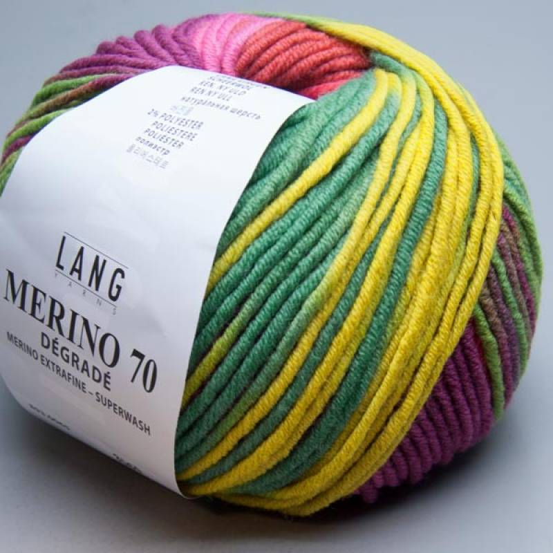 Lang Yarns Merino 70 degrade 65