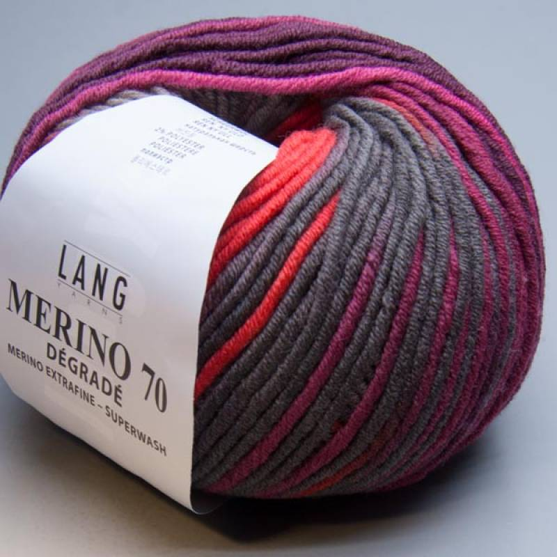 Lang Yarns Merino 70 degrade 66