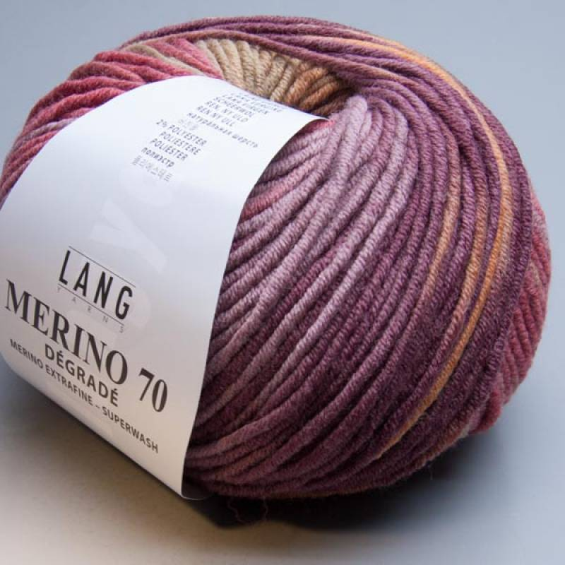 Lang Yarns Merino 70 degrade 75