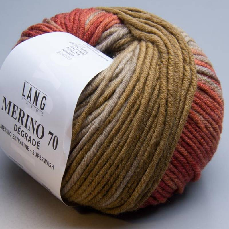 Lang Yarns Merino 70 degrade 97