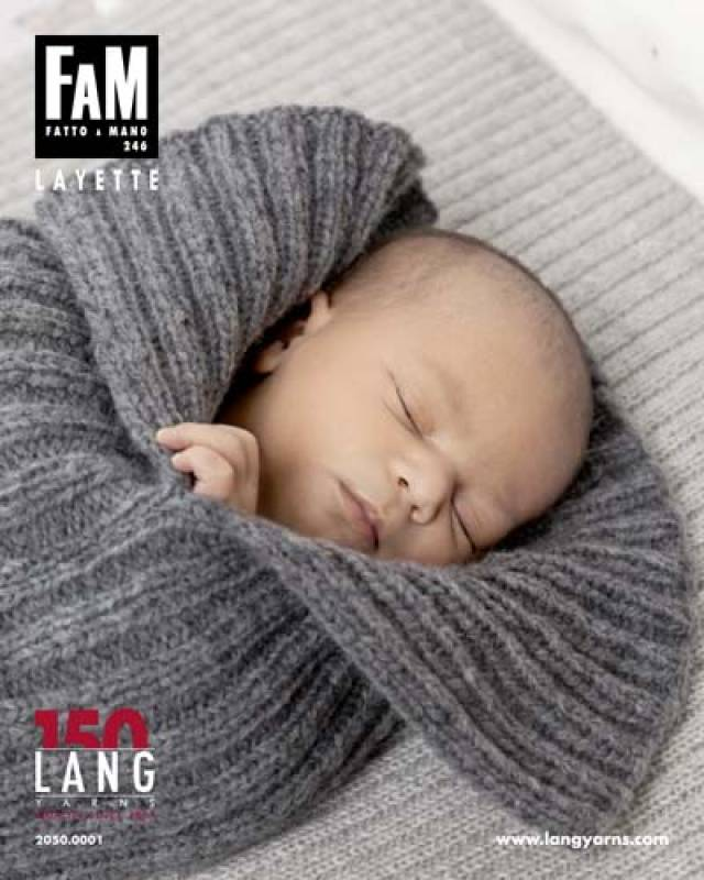 Lang Yarns FAM 246 BABY  - Strickheft mit Anleitung