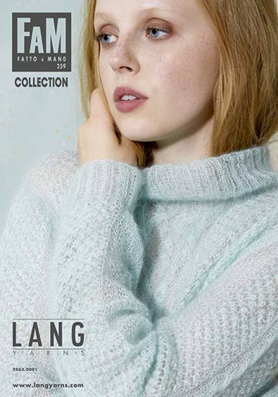 Lang Yarns FAM 259 COLLECTION  - Strickheft mit Anleitung