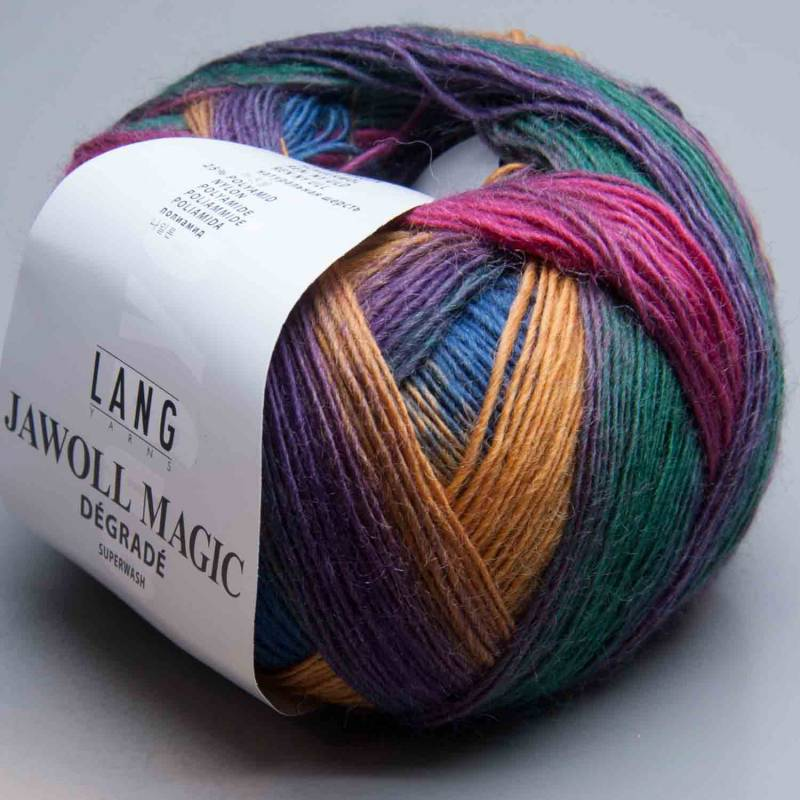 Lang Yarns Jawoll Magic Degrade 54