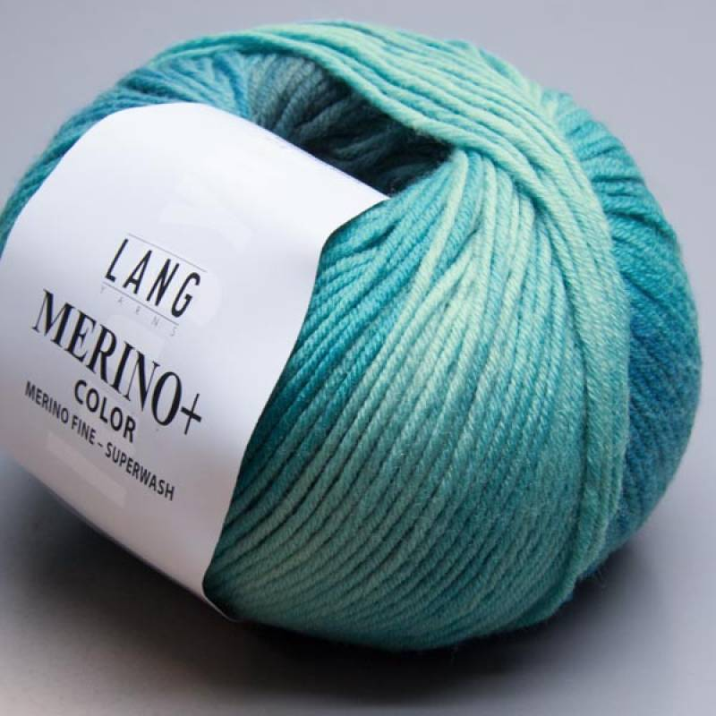 Lang Yarns Merino+ Color 18